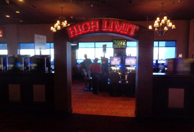 High Limit Table Rooms at Edgewater Casino