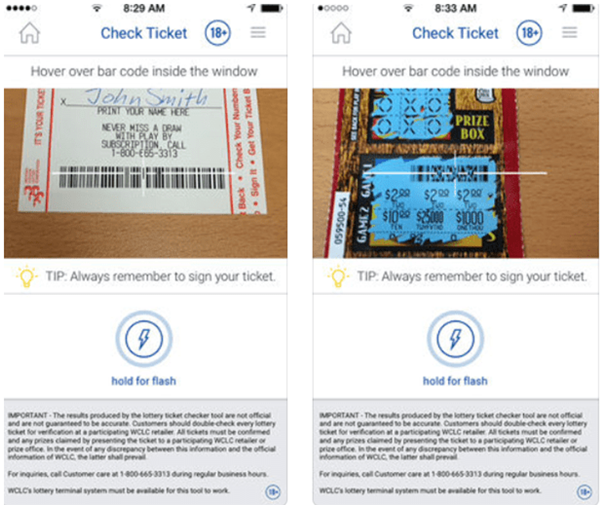 How to check lottery results in Canada with mobile app