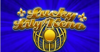 How to play Lucky Lily Keno online in Quebec Canada?