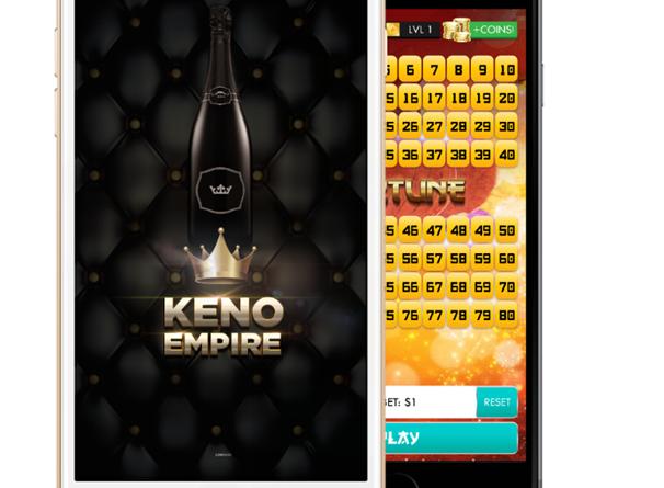 Keno Empire game app
